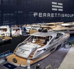 Pershing 7X Weltpremiere